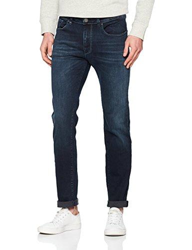 Selected Denim Blue Blu Slim Jeans Dark dark Homme Uomo Denim Cw1qBZC