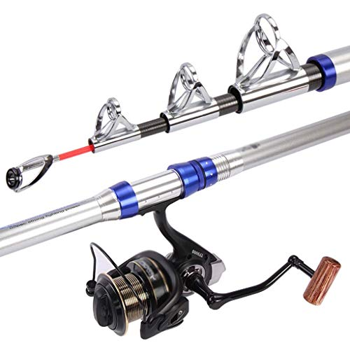 Fishing rods Fishing Rod Ultra Light Carbon Long Section Sea Rod Set Fishing Gear 4.5 M 8000 Reel and Accessories Fishing Rod (Size : 2.4m/4Festival)