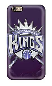 New Fashion Premium Tpu Case Cover For Iphone 6 - Devil Sacramento Kings Nba