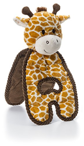 (CHARMING Pet Cuddle Tugs Giraffe Dog Toy)