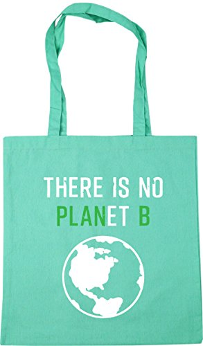 There litres Beach Gym Mint No B HippoWarehouse x38cm Shopping Bag Is 42cm Planet Tote 10 SqCqwU