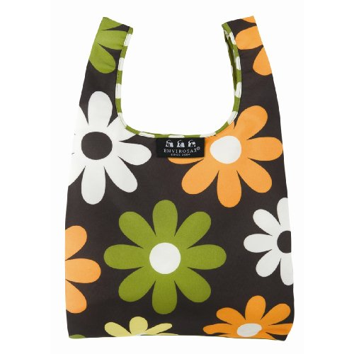 Envirosax Minisax Lunch Bag,Mini Daisy Dots,one size - Mini Lunch Bag