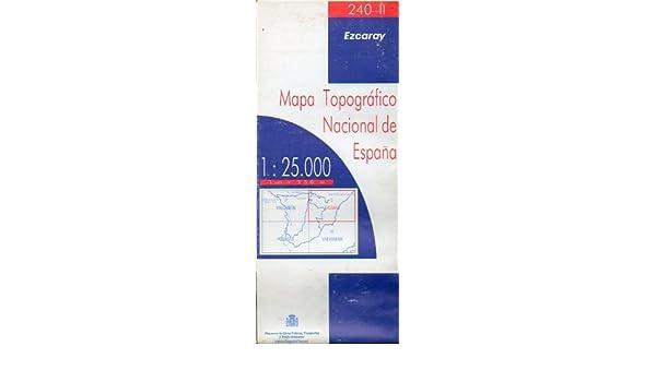 MAPA TOPOGRÁFICO NACIONAL DE ESPAÑA. Escala 1:25.000. 240-IV ...