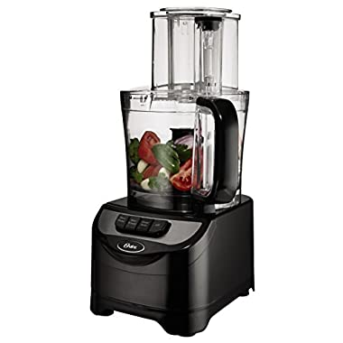 Oster FPSTFP1355 2-Speed 10-Cup Food Processor, 500-watt