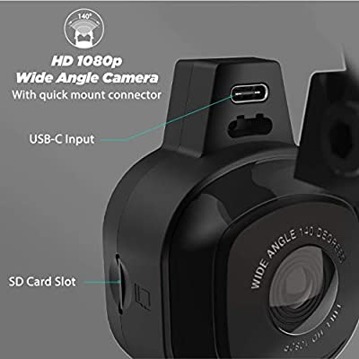 SCOSCHE NEXC10032-SP1 Full HD Smart Window Cam Powered by Nexar with Adhesive Mount and 32GB Micro-SD Card: Car Electronics