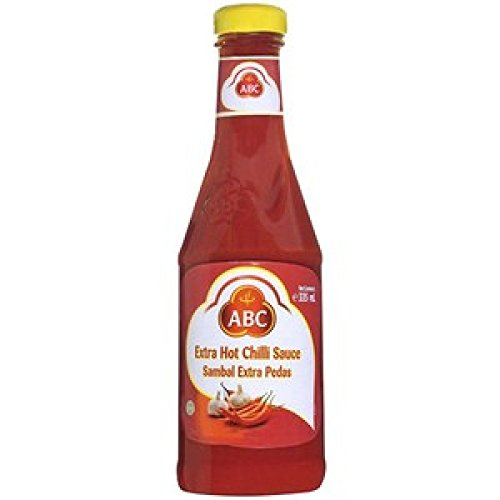 ABC Extra Hot Chili Sauce, 11.3 Ounce (Sauce Sweet Abc Chili)