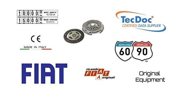 Fiat 71793353 Kit Embrague 2 piezas Fiat Punto Evo 1.3 Multijet 66 kW: Amazon.es: Coche y moto