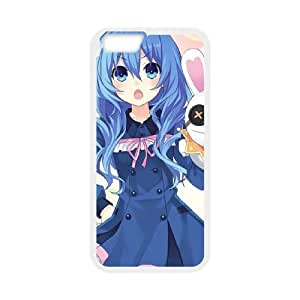 Date A Live iPhone 6 4.7 Inch Cell Phone Case White Exquisite designs Phone Case KM46J766