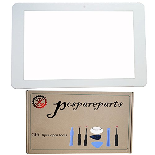 Replacement White Touch Screen Digitizer Glass Panel for Insignia Flex NS-P16AT08 8 Inch Tablet PC