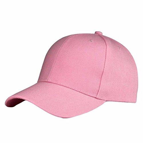 Unisex Sólido Gorra de Béisbol Absolute Hip Hop ☀️ de Snapback Rosa Moda Sombrero Ajustable wqIU4nRW