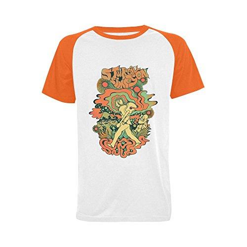 [Wihuae Men's Sturgill Simpson Short Sleeve Raglan T-shirt (USA Size) L] (Long Way Down T-shirt)