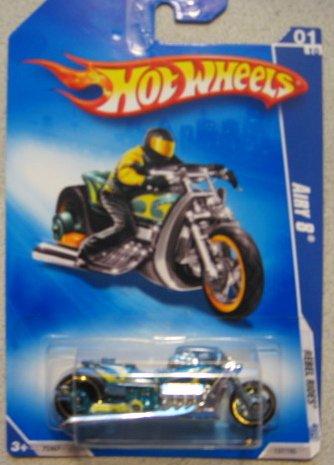 Hot Wheels Airy 8 Motorcycle 2008 Rebel Rides 137/190