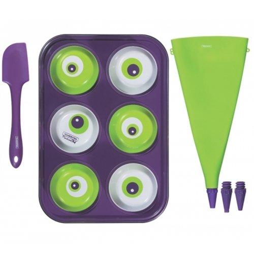 Tramontina 23799088 Kit para Cupcake 6 Pecas, Colorido