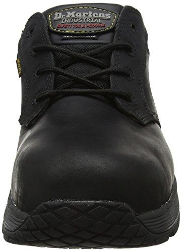 S1p Mixte Sécurité Martens Dr de Chaussures 001 Adulte Black Linnet Noir EAqpnY
