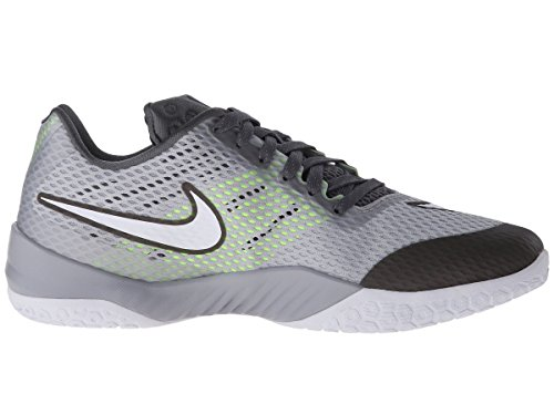 pr Homme Gry Chaussures Hyperlive drk Blanco Pltnm de Nike Wlf Gry Basket Gris White OZvFIwxqx