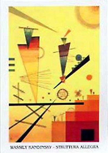 Posters: Wassily Kandinsky Poster Art Print - Struttura Allegra