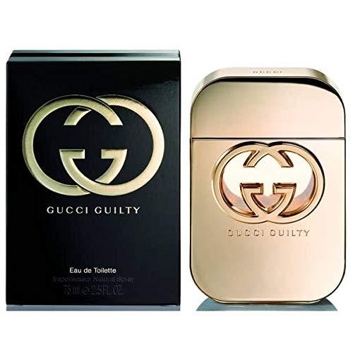 Guċci Guilty Eau De Toilette EDT Perfume for women Spray 2.5 fl oz / 75 ml (Gucci Guilty Intense Eau De Parfum 75ml)