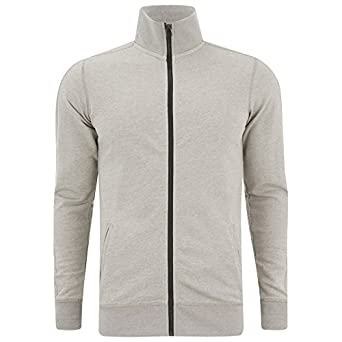 watch b4ca0 a33cb Produkt Mens GMS Make Zip Sweatshirt - Light Grey Melange ...