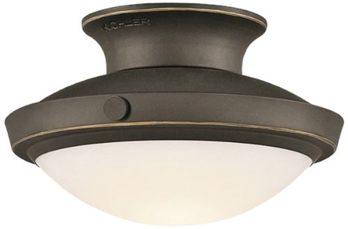 Kichler Black Floor Lamp - Kichler  42134OZ Fremont Convertible Semi Flush Large Ceiling Light, Olde Bronze