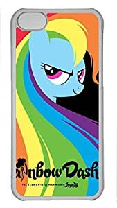 iCustomonline My Little Pony Custom Transparent Plastic Hard Back Cover for ipod touch 5 ipod touch 5