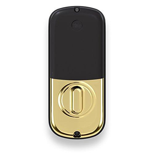 Yale B1l Lock Keypad Deadbolt In Polished Brass Unlock