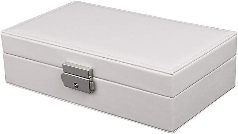 FENGWEIF Joyero para Mujer, Caja de Almacenamiento para Guardar Joyas: Amazon.es: Hogar