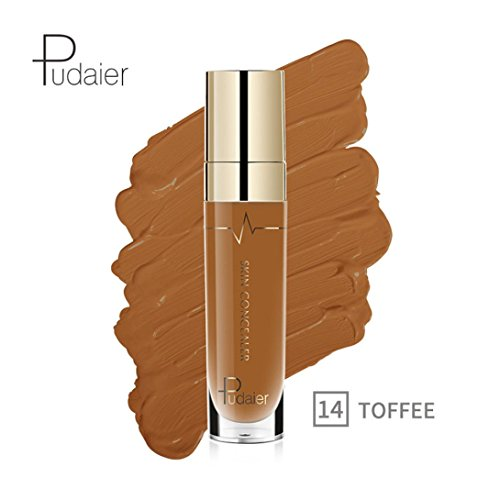 Oksale 22 Colors Face Eye Foundation Concealer Highlight Contour Liquid Stick Makeup Natrual Cream (#14)