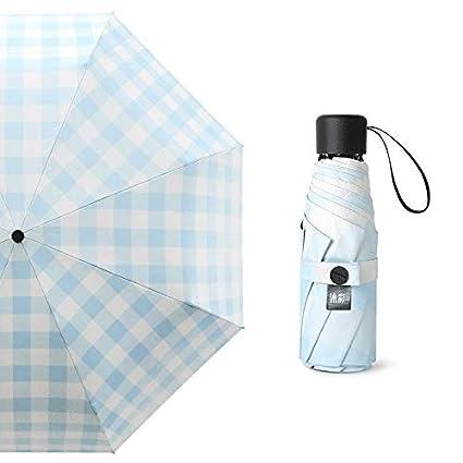 zzsiccc la Ultra Light Petit mini-sun cinco veces paraguas mujer protección UV con un