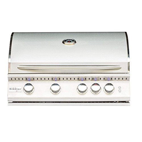 Summerset Sizzler Pro Series Built-in Gas Grill (SIZPRO32-NG), 32-inch, Natural Gas