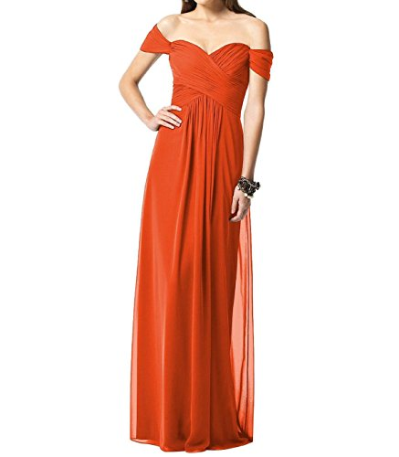 Líder de la belleza de las mujeres tapa manga gasa fiesta dama albornoz naranja