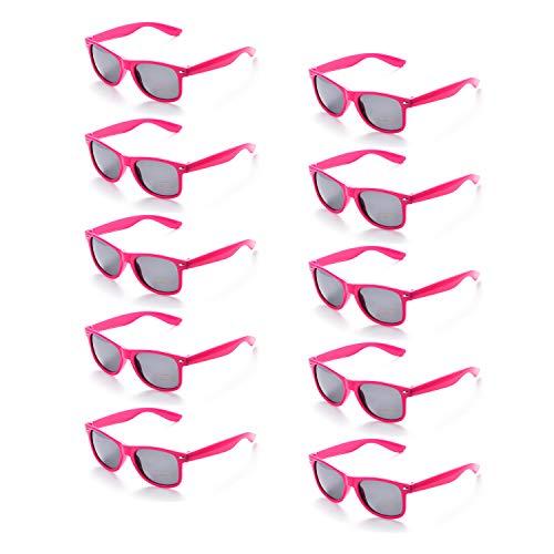 100% UV Protection Wholesale Multi PACK Unisex 80S Retro Style Promotional Sunglasses