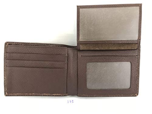 Men's V02 Genuine 1 Leather Brown Skin Bifold Wallet Crocodile Handamde x66gO