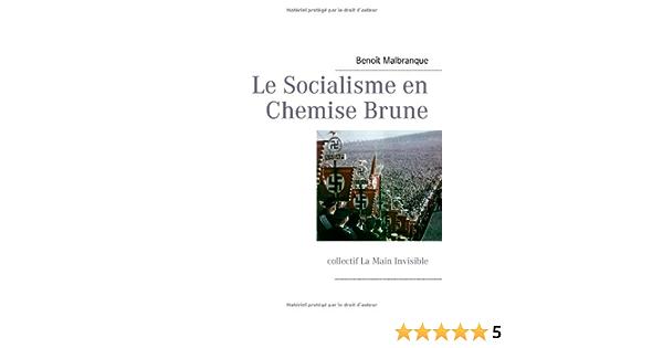 Le Socialisme En Chemise Brune French Edition Malbranque Benoit 9782810625048 Amazon Com Books