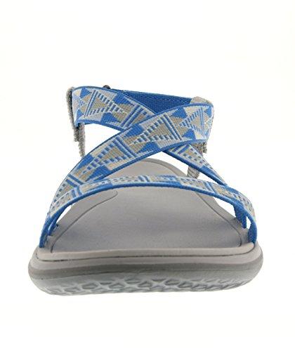 Sandalias 585 Blau Sandalias Bleu TevaTerra Grey Blue Livia Azul Mujer 1zZq5Rn