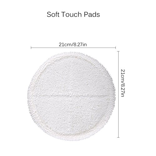 4 Pack Mop Pads for Bissell Spinwave 2039A 2124 Powered Hard Floor Mop by Ximoon (Image #3)