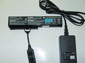 Amazon.com: Cargador de batería externo para portátil para ...
