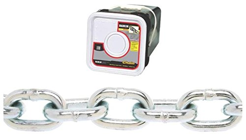 Baron PC3014SP Welded Proof Coil Chain 1/4 in x 100 ft 1300 lb Steel