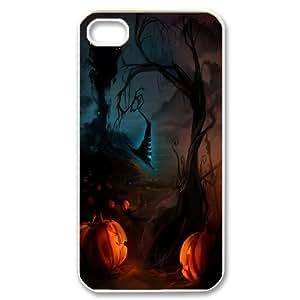 Halloween art posters Hard Plastic phone Case for Apple iPhone 4 4S RCX081535