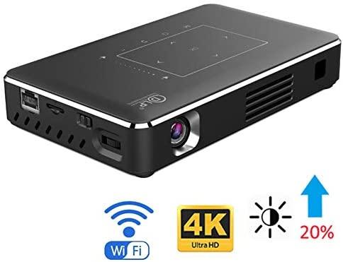 MXQH El Mini proyector, los proyectores admiten 1080P Full HD Wi ...
