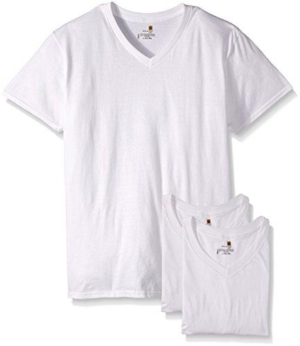 Gold Toe Mens 3-Pack V-Neck T-Shirt,