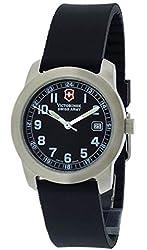 Victorinox Swiss Army Field Watch S Black Dial Womens Watch 24977-CB