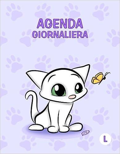 Agenda giornaliera - L: Viola - Gatti - Perpetua (Senza date ...