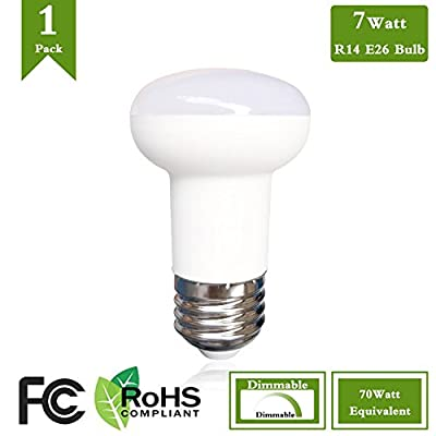 R16 LED E26 Base Bulb 7 Watt LED Bulb Equivalent 65 Watt Incandescent Bulbs,2700K Warm White 120 Volt 700 Lumens LED Spot Light Bulb,R16 Reflector Bulb Dimmable