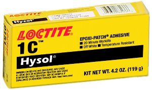 Loctite 83200/1373425 1C Hysol Two Component Epoxy Adhesive Kit, White -2 pack by Loctite (Image #2)