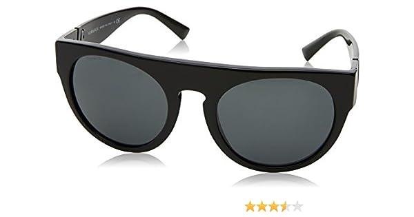 Versace 0VE4333 Gafas de sol, Black, 55 para Hombre: Amazon