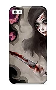8460854K69702432 High Impact Dirt/shock Proof Case Cover For Iphone 5c (alice Madness Returns)