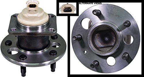 Intrigue Olds (APDTY 512237 Wheel Hub Bearing Assembly w/ ABS Sensor Fits Rear Left or Right 97-04 Regal 98-02 Olds Intrigue 00-05 Impala or Monte Carlo 01-05 Aztec 97-03 Pontiac Grand Prix (Replaces 88964177))