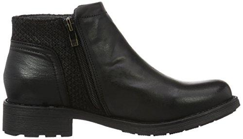 XTI 65346, Zapatillas de Estar por Casa para Mujer negro
