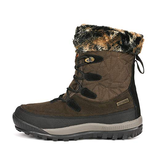 8e5486a00 NORTIV 8 Women's A0052 Insulated Waterproof Construction Hiking Winter Snow  Boots: Amazon.ca: Shoes & Handbags