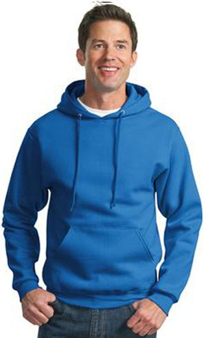 JERZEES SUPER SWEATS - Pullover Hooded Sweatshirt. 4997M - Royal_M - Jerzees 4997 Hoodie Sweatshirt